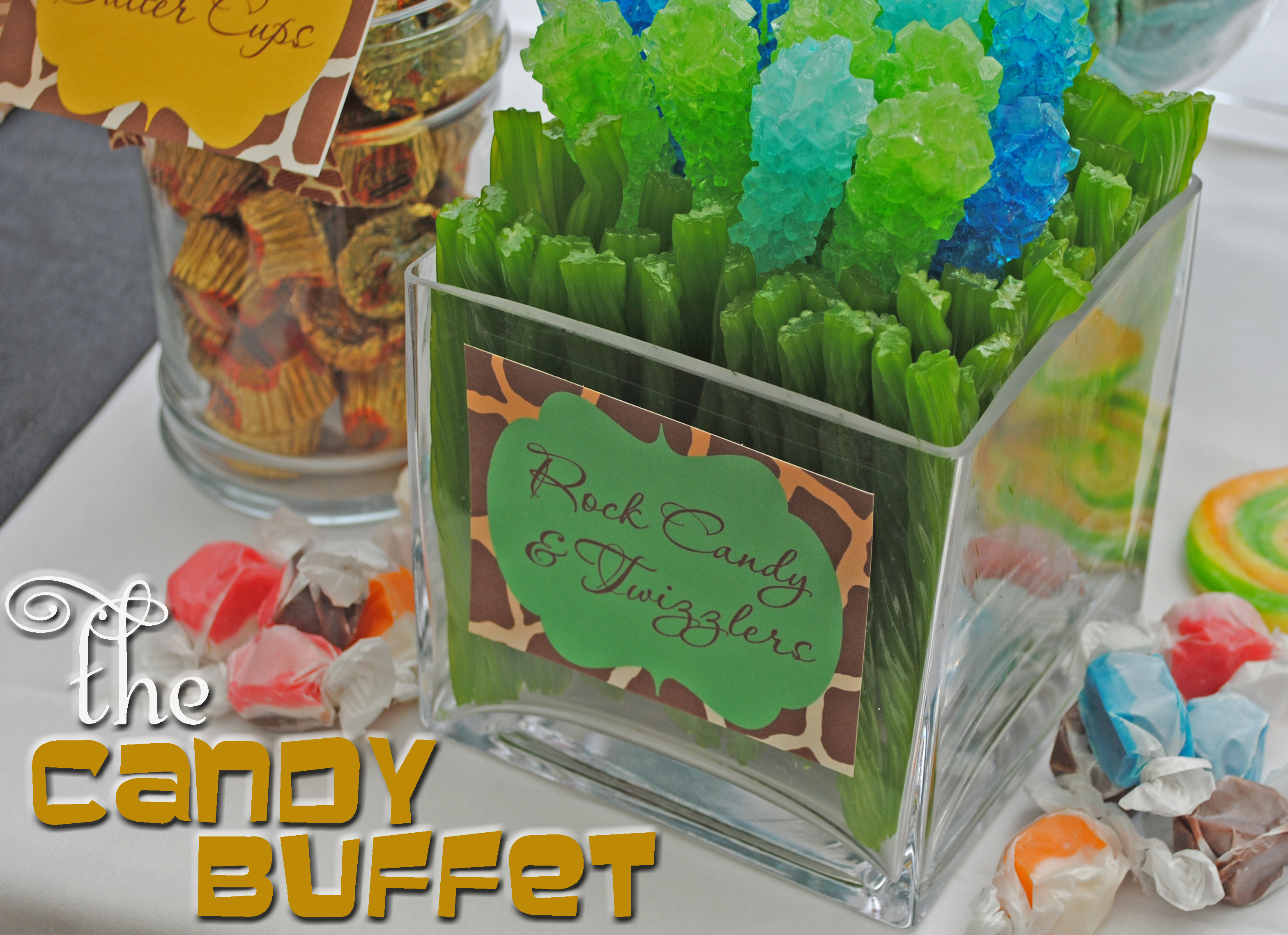 Jungle Theme Candy Buffet. Jungle Theme Candy Buffet. Baby Shower King Of  The Jungle Party ...