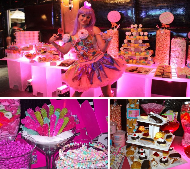 Katy Perry Candyland Dessert Buffet table