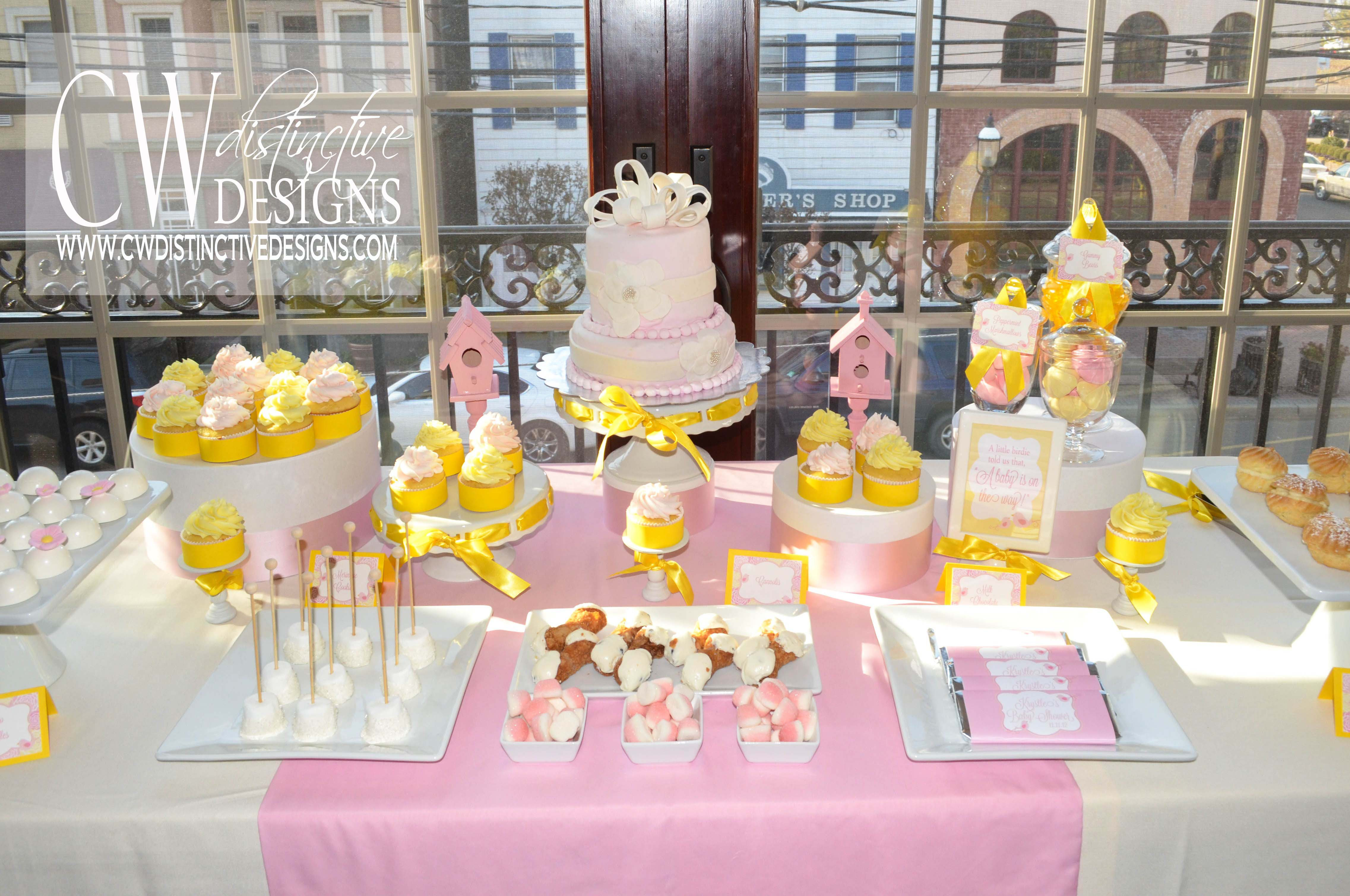 baby shower dessert tables cw distinctive designs
