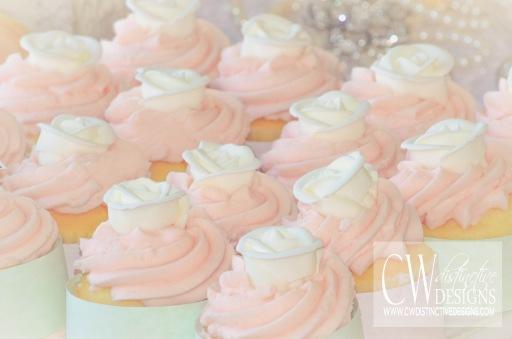 Champagne Cupcake Desserts