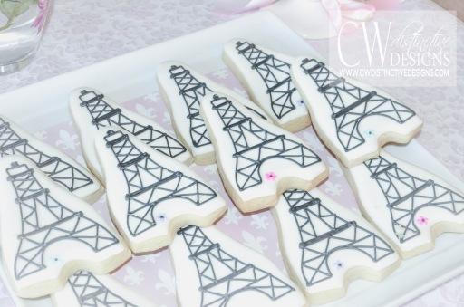 Eiffel Tower Parisian Cookies