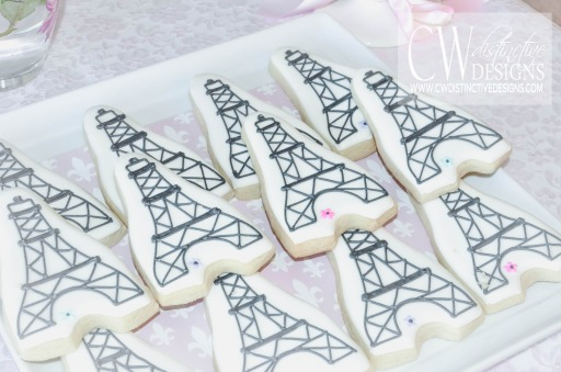 Eiffel Tower Parisian Cookies