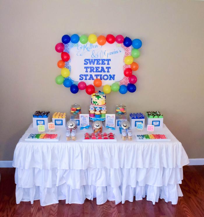 Art Cake Nj : art birthday party ideas   CW distinctive DESIGNS