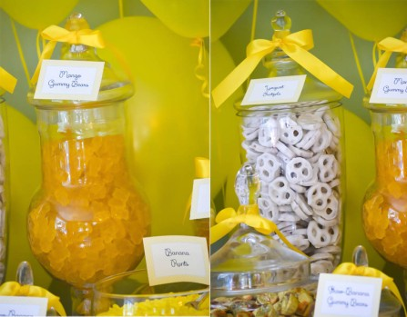 Yellow Candy Buffets