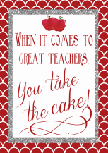 Cupcake Teacher Holiday Present Ideas