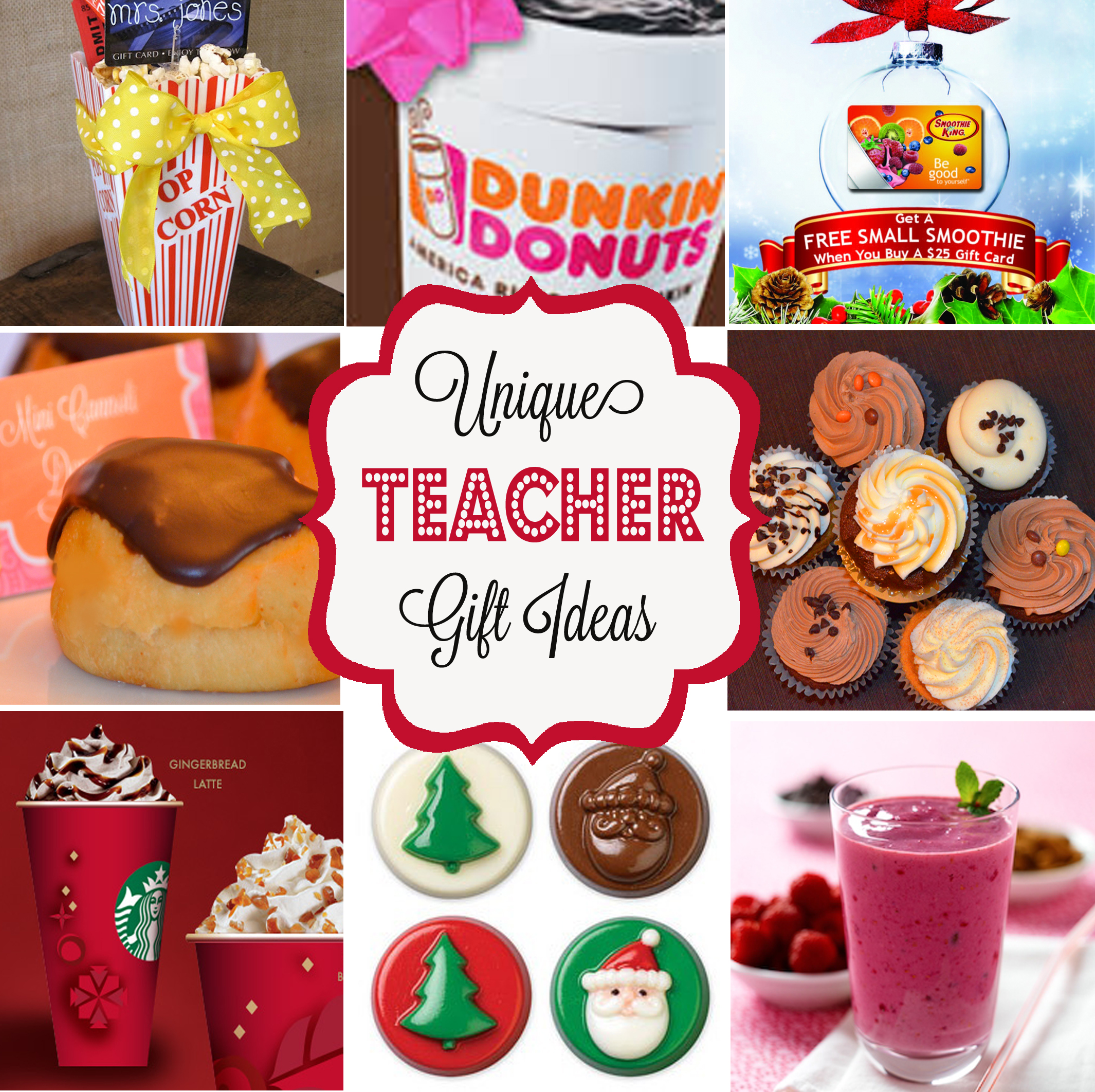 Unique Holiday Teacher Gifts