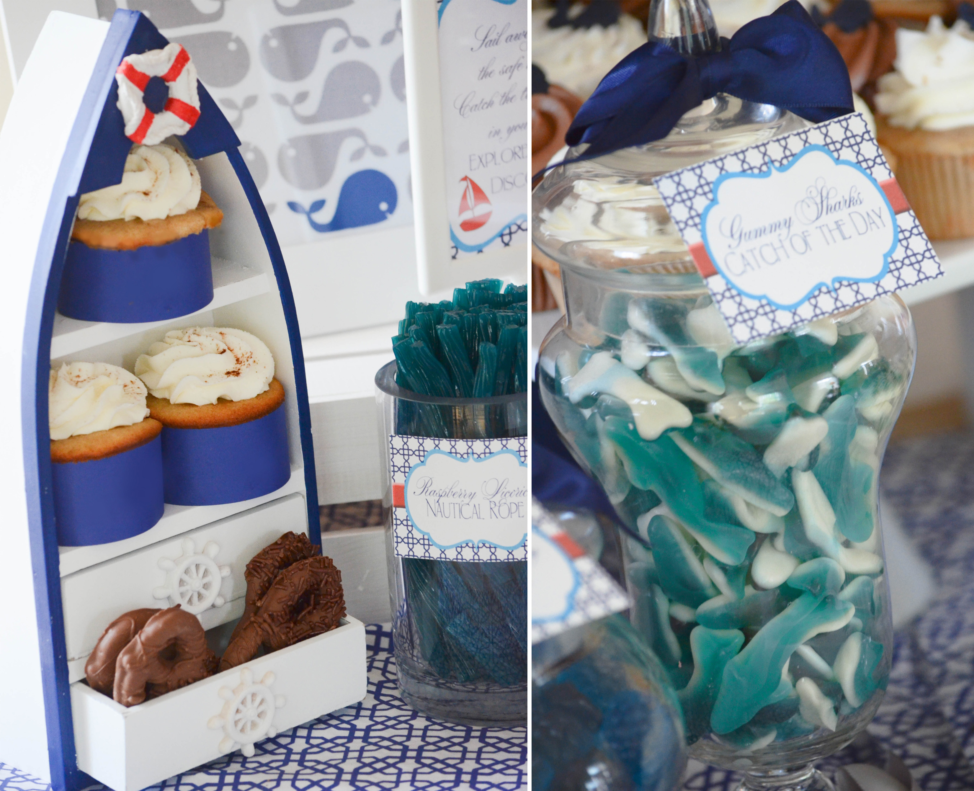 nautical baby shower ideas – CW distinctive DESIGNS