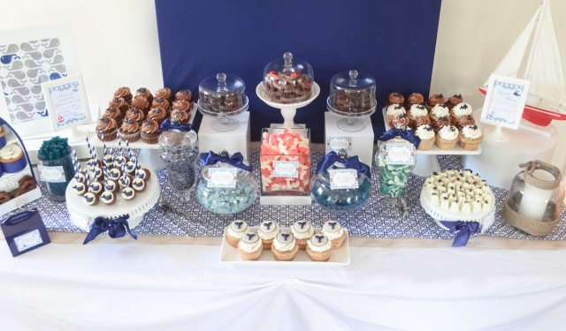 Nautical Candy Table Buffet