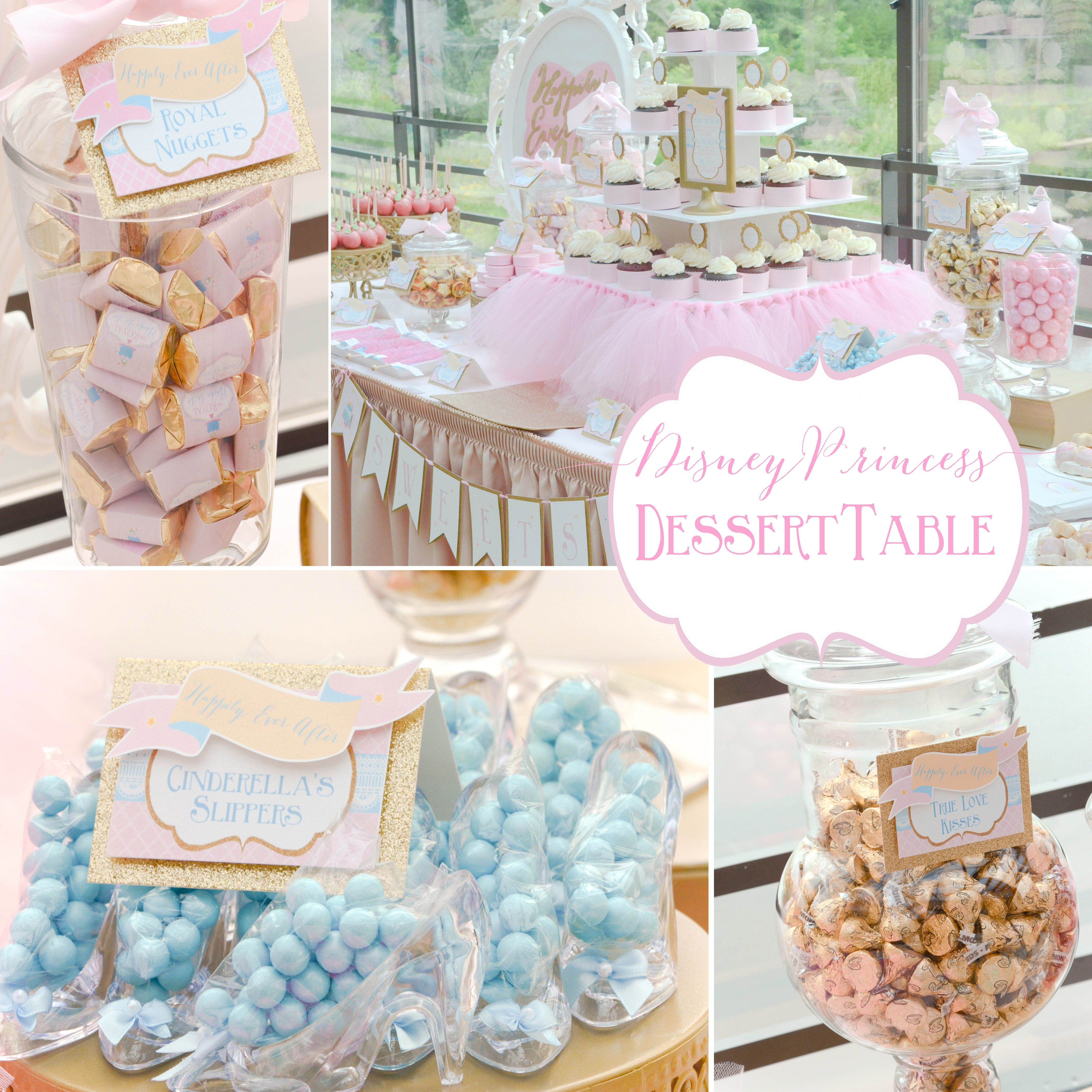 Disney Princess | Happily Ever After – Bridal Shower Dessert Table ...