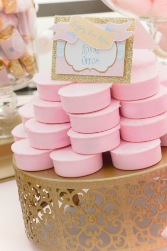 Happily Ever After princess Candy and Dessert Table Tulle Skirt| #disney #oreos #desserttables wwwcwdistinctivedesigns.com