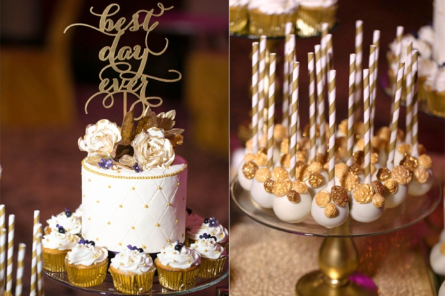 Elegant Wedding Dessert and Cake