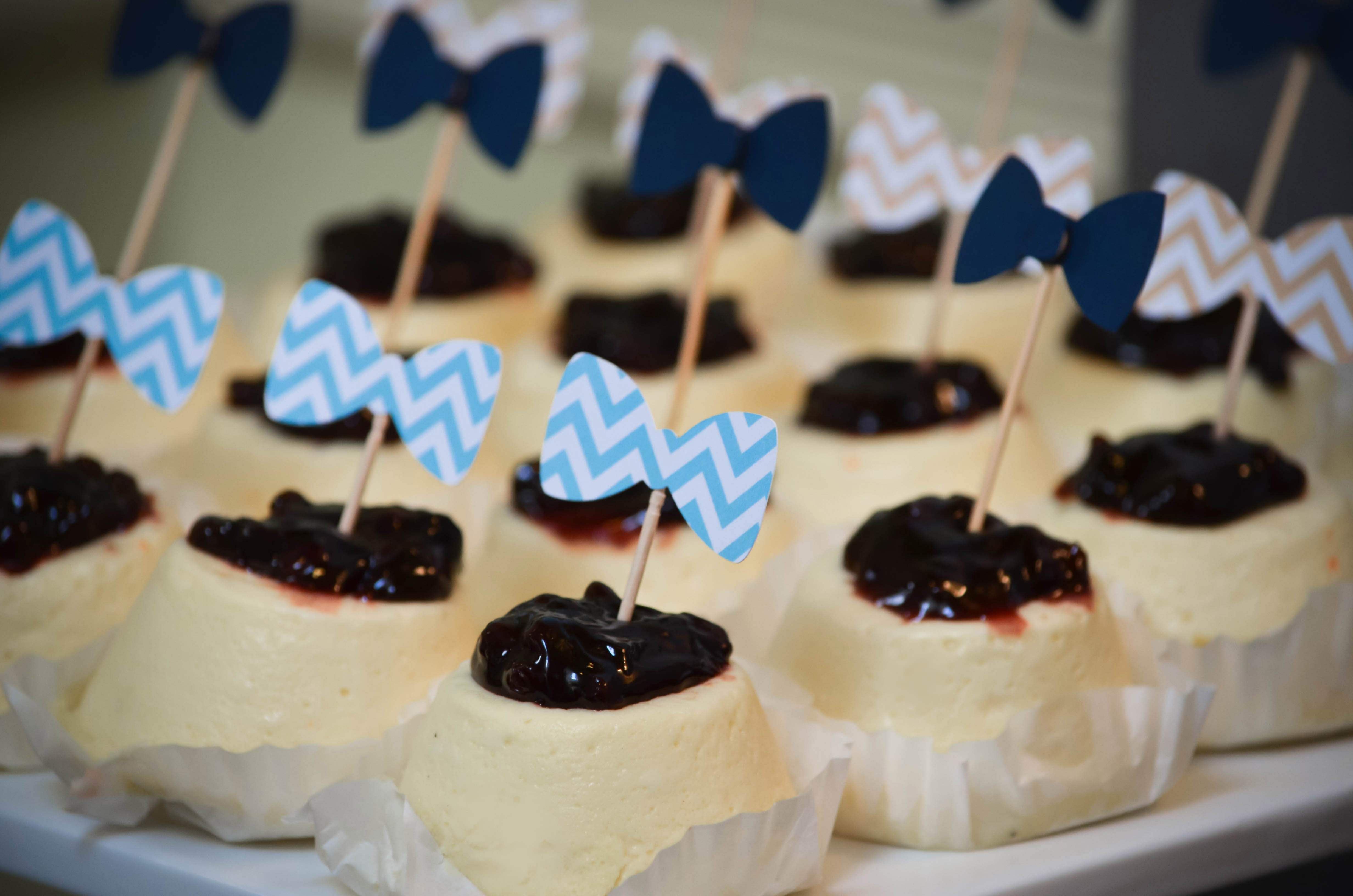 Baby Shower Dessert Ideas For A Boy our little man | bowtie baby shower dessert table – cw distinctive