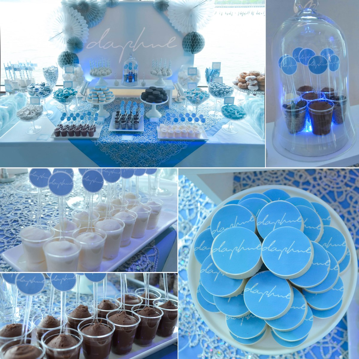 mitzvah candy and dessert table daphne�s nyc boat