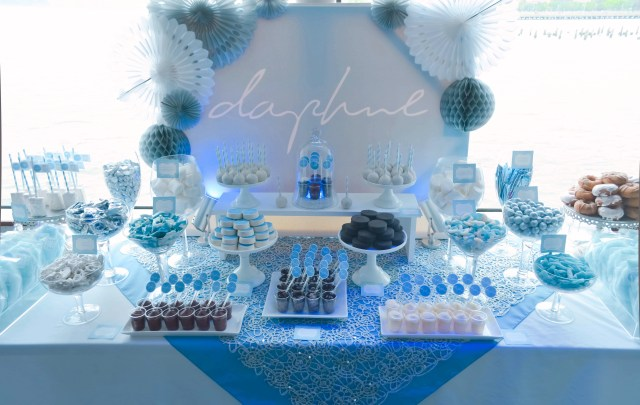 Mitzvah Candy And Dessert Table Daphne S Nyc Boat