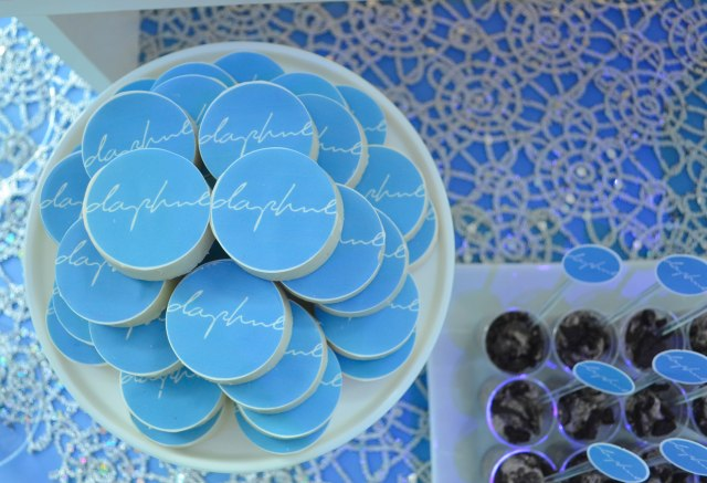 Daphne's NYC Mitzvah Candy Buffet and Dessert Table   www.cwdistinctivedesigns.com   #oreos #edibleimages #desserttables