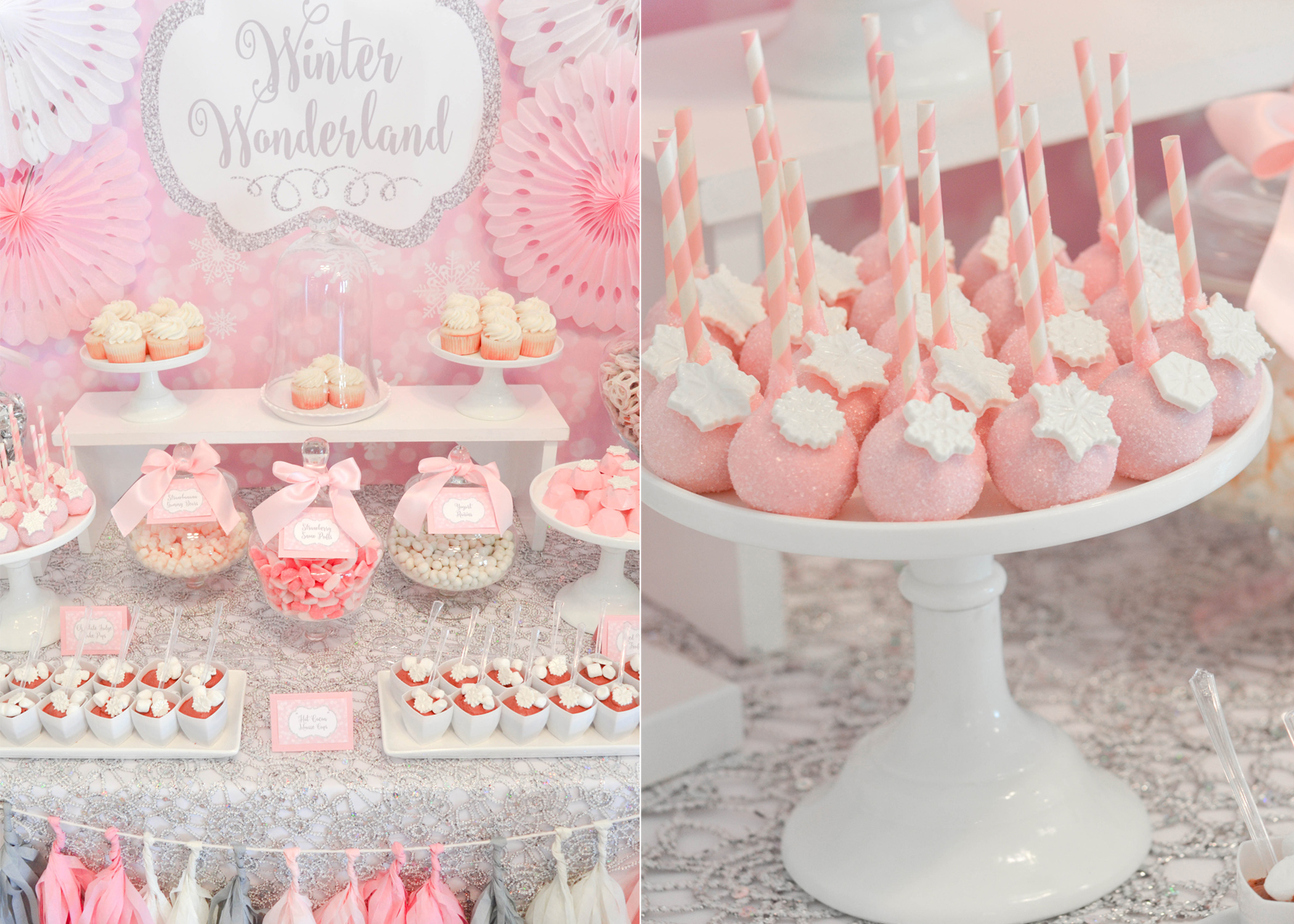 Some Dessert Table HIGHLIGHTS From CW Distinctive DESIGNS: